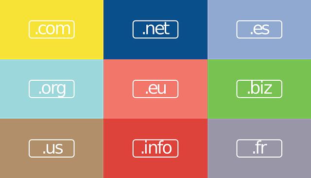 Cos'è un dominio web. Elenco di TLD.
