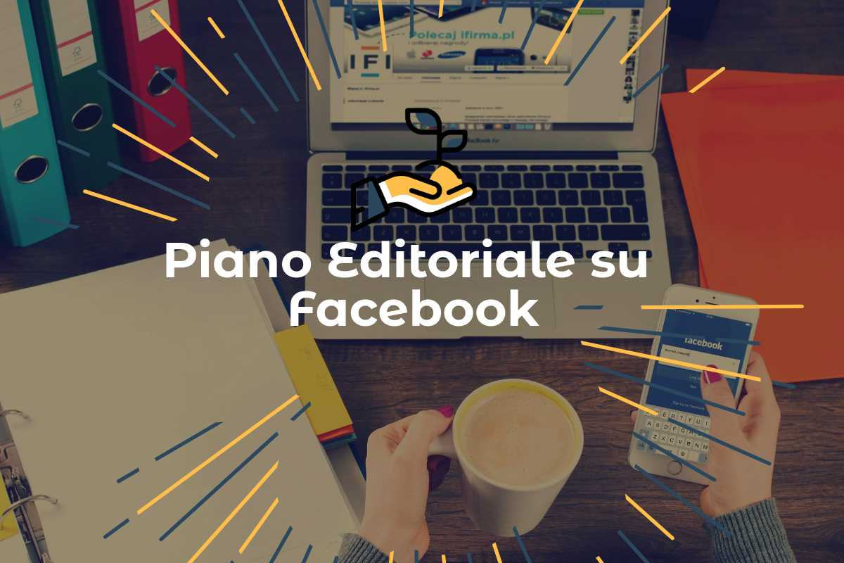 piano editoriale su facebook