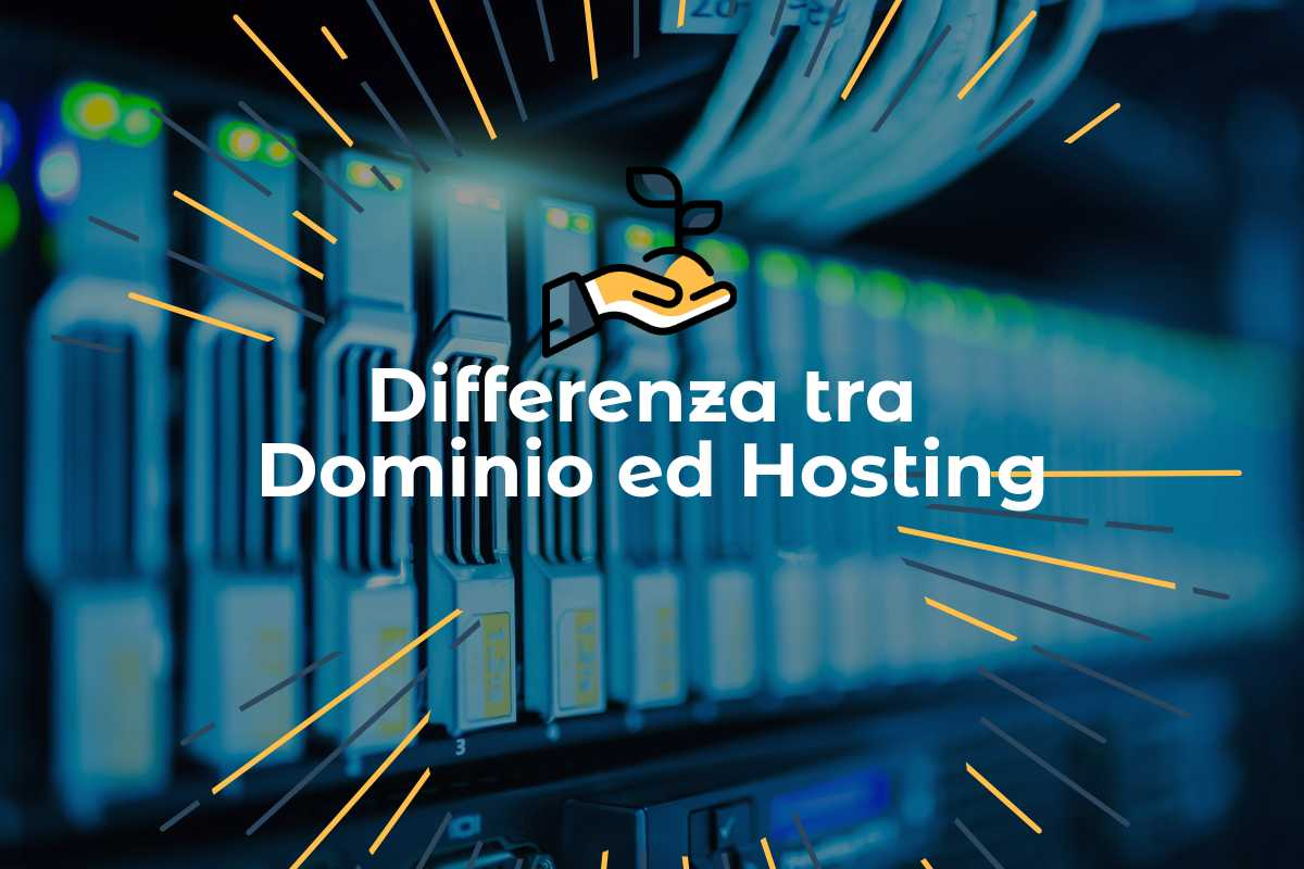 differenza tra hosting e dominio