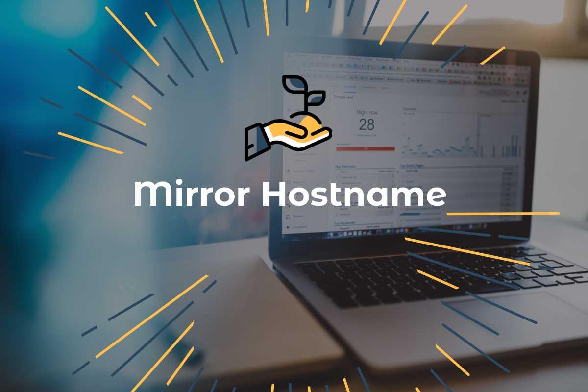 Mirror Hostname e siti web con e senza www