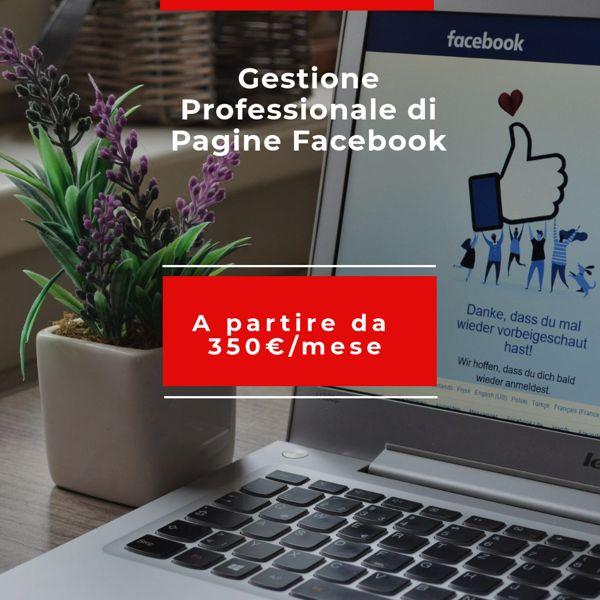 Servizio di gestione delle pagine facebook