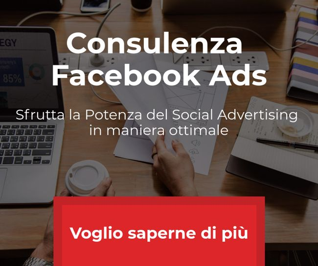 Consulenza Facebook Ads