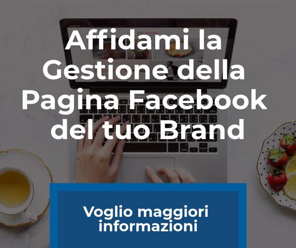 gestione pagina facebook per aziende