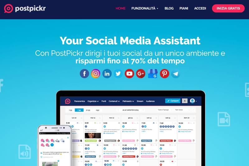 Post Pickr: un ottimo tool per la programmazione dei post