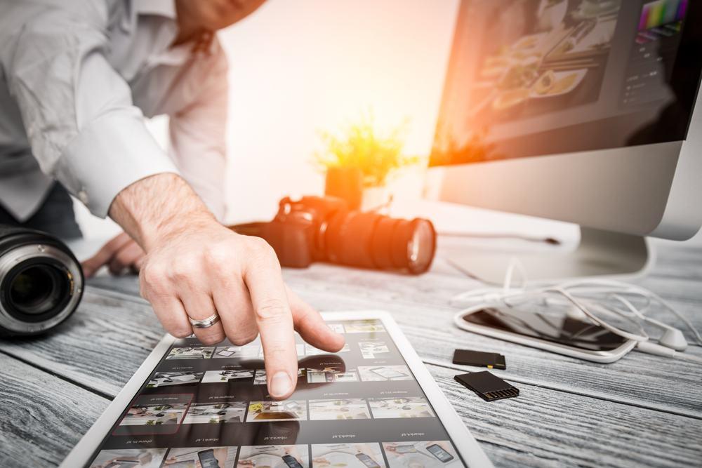 fotografie e piano editoriale per una gestione dei social ottimale