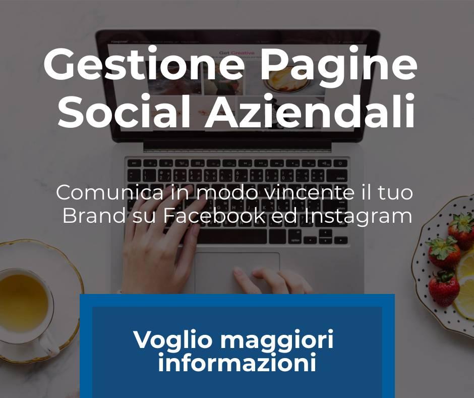 gestione pagine social