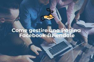gestire pagine facebook